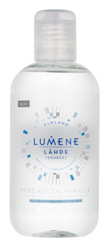 Lumene Lähde [Source of Hydratation] Micellar Cleansing Water for All Skin Types Including Sensitive